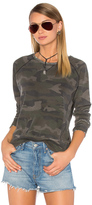 Rag Doll Ragdoll Distressed Camo Sweatshirt