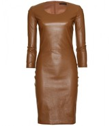 The Row QUARNY LEATHER DRESS