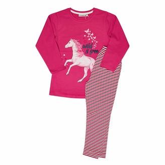 Salt&Pepper Salt and Pepper Girls' Pyjama Horses Pajama Set