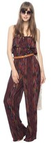 Heritage 1981 Abstract Print Wide Leg Jumpsuit