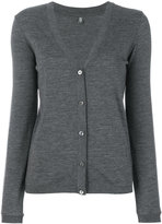 Eleventy fitted knitted cardigan