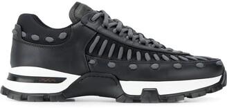 Ermenegildo Zegna Lace Detail Sneakers