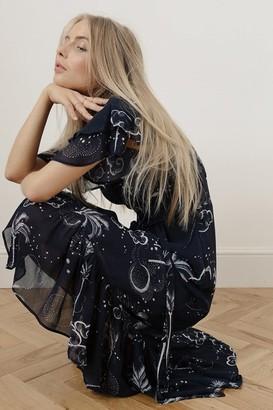 Lily & Lionel Mystic Palm Drew Dress - Xsmall