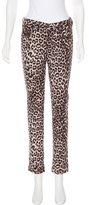 Rag & Bone Mid-Rise Leopard Print Jeans w/ Tags