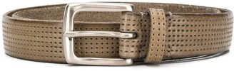 Andersons Perforated Square-Buckle Belt