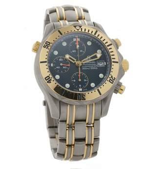 Omega Seamaster 300 Chronographe Blue Titanium Watches