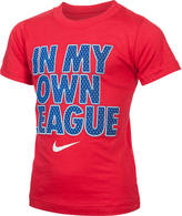 Nike Boys' Preschool In My Own League T-Shirt
