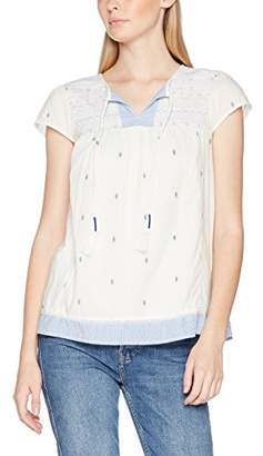 Fat Face Women's Florence Embroidered Blouse,6