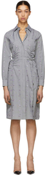 Altuzarra Black and White Strada Shirt Dress