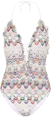 Missoni Mare Zigzag knit swimsuit