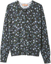 Joe Fresh Women's Print Cardi, Jade (Size XS)