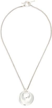 Philippe Audibert 'Poema' circle pendant necklace