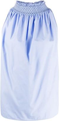 Jejia Cinched-Neck Sleeveless Shirt