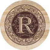 Thirstystone TSMR 4 piece Coaster Set Monogram R