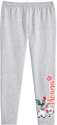 Disney Little Girls Moana Graphic-Print Leggings