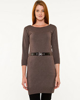 Le Château Boat Neck Belted Sweater