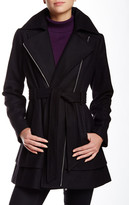 GUESS Asymmetrical Zip Coat