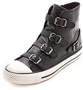 Ash Women's Virgin Fashion Sneaker,Black,36 EU/6 M US