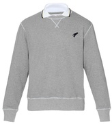 Michael Bastian Attached Collar Cotton-jersey Sweatshirt