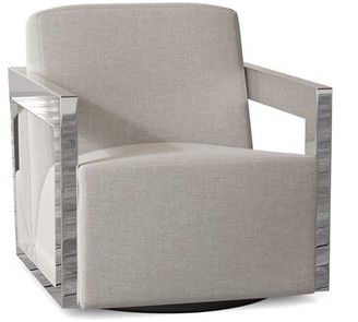 Bernhardt Scholl Swivel Armchair Body Fabric: 1029-010