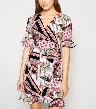 New Look Urban Bliss Paisley Wrap Dress