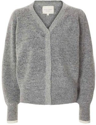 Lollys Laundry - Laura Cardigan Grey Melange - S