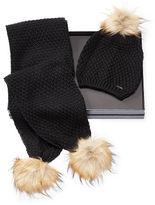 Ralph Lauren Pom-Pom Hat & Scarf Gift Set