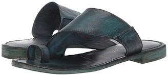 Free People Sant Antoni Slide (Turquoise) Women's Dress Sandals