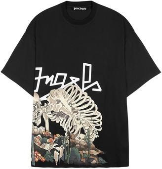 Palm Angels Desert Skull printed cotton T-shirt