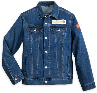 Disney Mickey Mouse Denim Jacket for Adults Disneyland