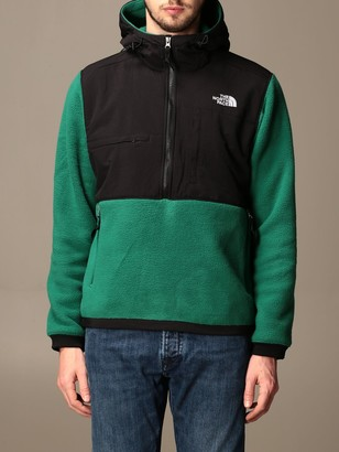 The North Face The Not Face Sweatshirt In Fleece And Nylon With Hood And Logo