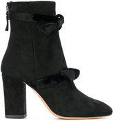 Alexandre Birman bow-detail boots - women - Leather/Suede - 35.5