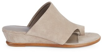 Vince Darla Suede Wedge Slides