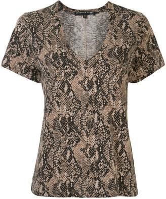 Veronica Beard snakeskin print T-shirt