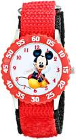 Disney Kids' W001912 Mickey Mouse Analog Watch With Strap