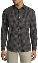 Theory Ellipse-Print Cotton Sport Shirt