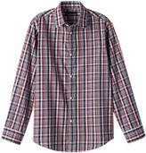 Van Heusen Boys 8-20 Plaid Button-Down Shirt