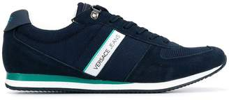 Versace panelled sneakers