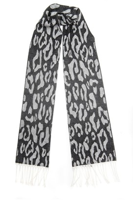 Collection XIIX Leopard Scarf