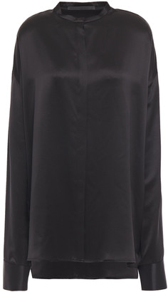 Haider Ackermann Silk-satin Shirt
