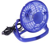 """HDE Mini Ultra Quiet 360 Degree Tilt Angle USB Powered Personal Cooling 5.5"""" Fan"""