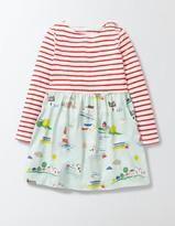 Boden Hotchpotch Jersey Dress