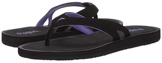 Flojos Dana (Black/Purple) Women's Shoes