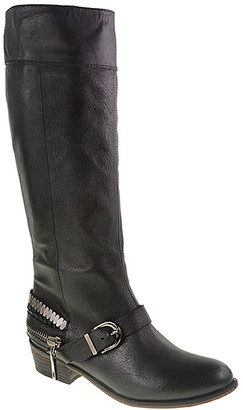 Chinese Laundry Women's Casual boots BLACK - Black Solar Leather Boot - Women