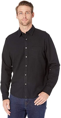 UNTUCKit Flannel Sherwood Shirt (Black) Men's Clothing