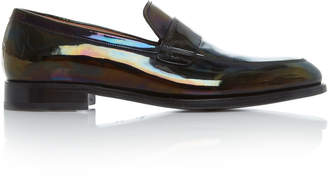 Givenchy Patent Leather Loafers Size: 41