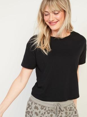 Old Navy Loose Short-Sleeve Crop Tee for Women