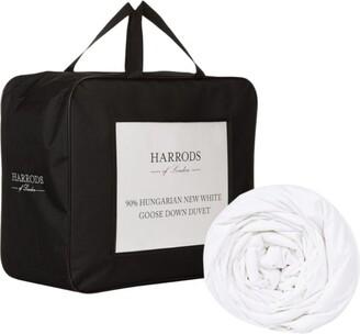 Harrods King 90% Hungarian New White Goose Down Duvet (2.5 Tog)