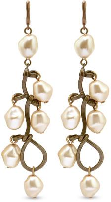 Marni Pearl Drop Earrings (White)
