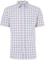 Howick Men's Bartlett Gingham Short Sleeve Shirt
